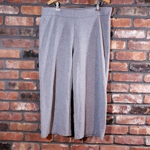 Pure Jill Stretch Cropped Wide Leg Pull-on Pants